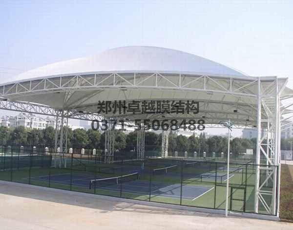 网球/羽毛球馆顶棚膜结构实例一