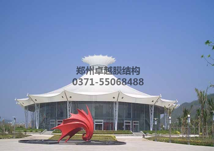 屋顶膜结构实例图二