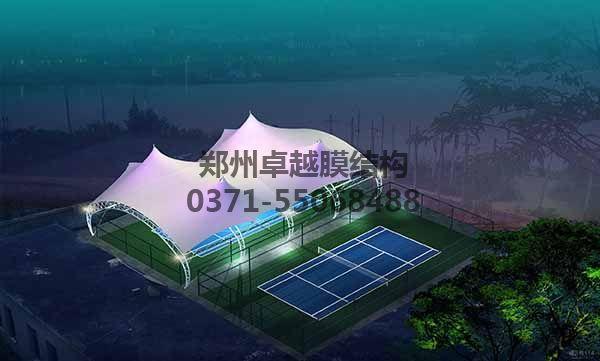 网球/羽毛球馆顶棚膜结构设计二