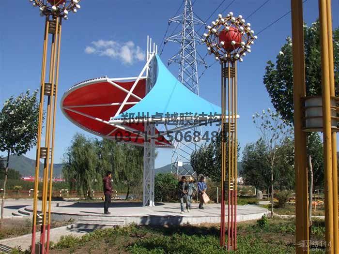 景观膜结构之小伞实例