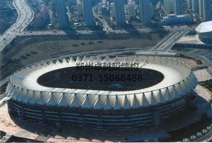 体育场馆膜结构实例二-青岛颐中体育场