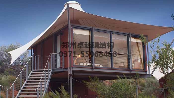屋顶膜结构实例图一