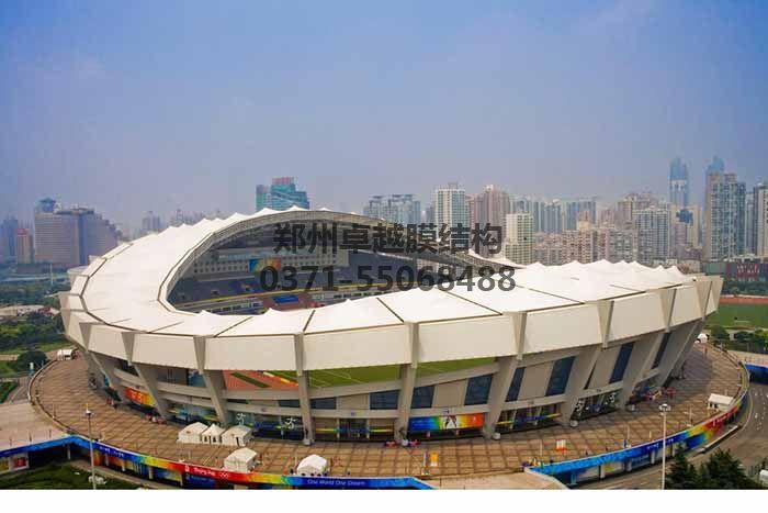 体育场馆膜结构实例一-上海体育场