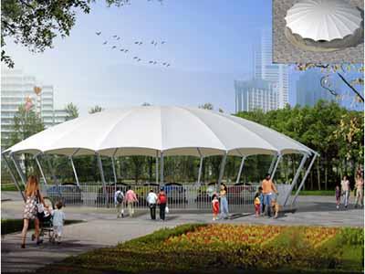 游乐场/儿童乐园遮阳膜结构