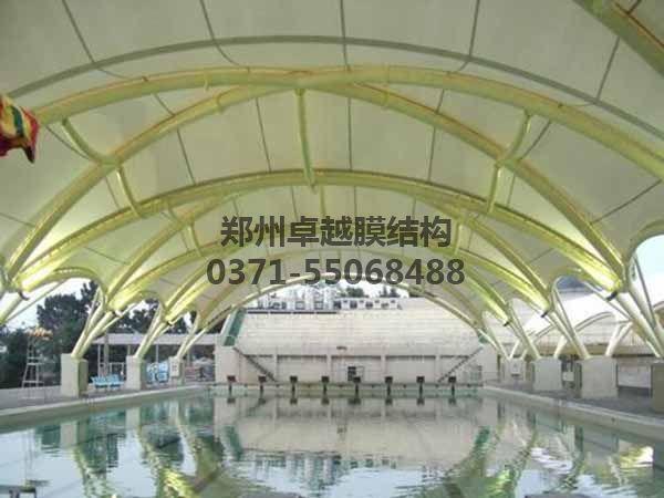 某大学泳池膜结构罩棚