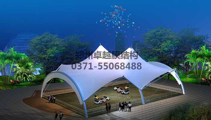 游乐场/儿童乐园膜结构遮阳棚设计效果图二