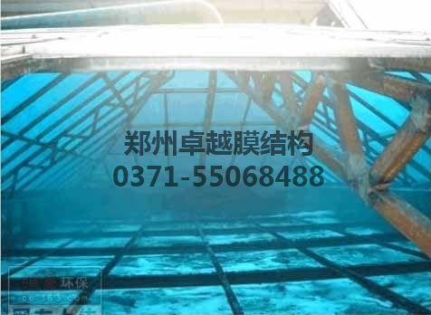 某药厂污水池玻璃钢板封闭内部钢结构出现严重腐蚀