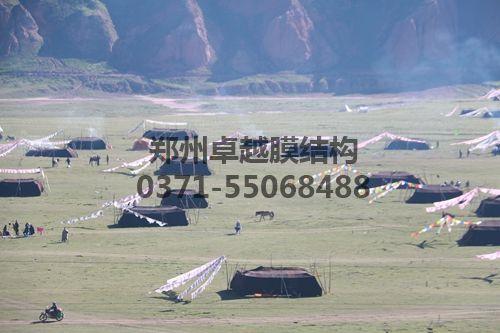 帐篷从某种意义上说也是膜结构的一种应用