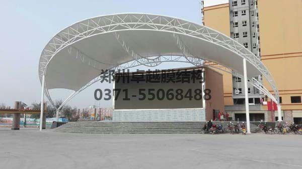 舞台膜结构案例实拍图