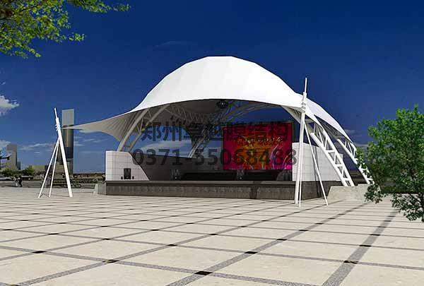 舞台膜结构设计效果图一