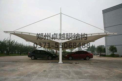 某单位T字型膜结构车棚