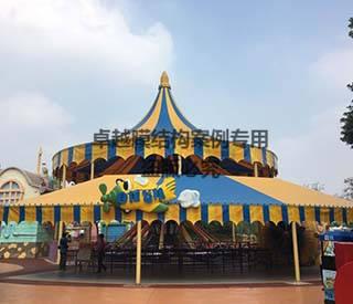 芜湖游乐园膜结构遮阳棚项目