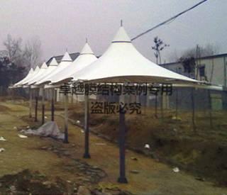 驻马店公园膜结构景观