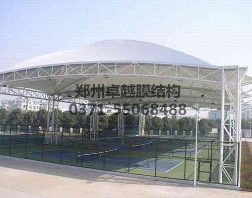 膜结构工程之网球场罩棚