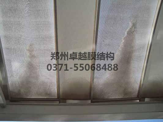 天津火车站公交站台膜结构 - 郑州卓越膜结构工程有限