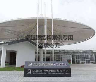 上海孙桥农业园膜结构遮阳棚