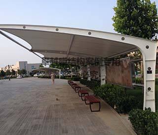 郑州殡仪馆膜结构车棚