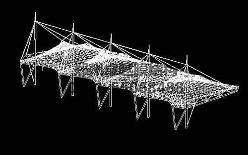 膜结构设计依托于计算机软件进行