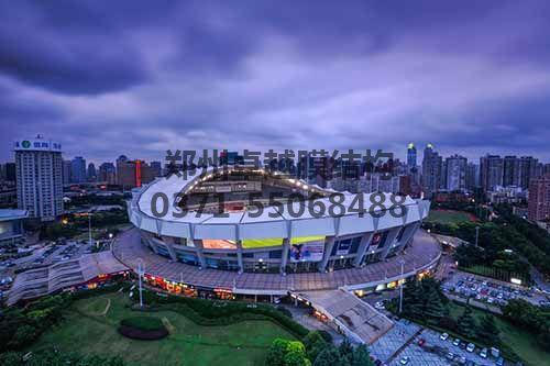 上海八万人体育场全景
