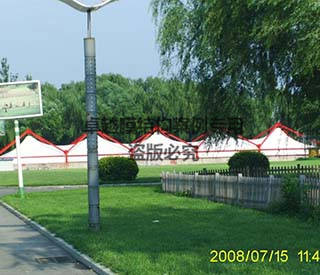 北京北神树卫生填埋场膜结构工程