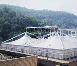 重庆垃圾发电厂膜结构封闭项目