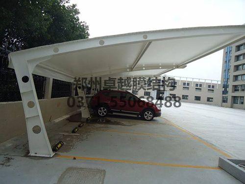 某小区7字型膜结构车棚