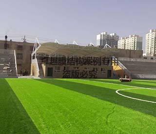 新疆喀什克州体育场看台膜结构