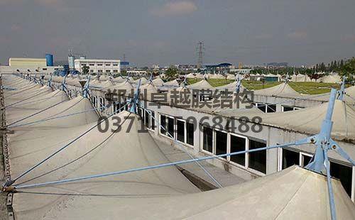 宁波第一污水处理厂污水池反吊膜封闭工程