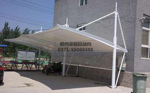 开封兰考县三义寨乡政府膜结构车棚