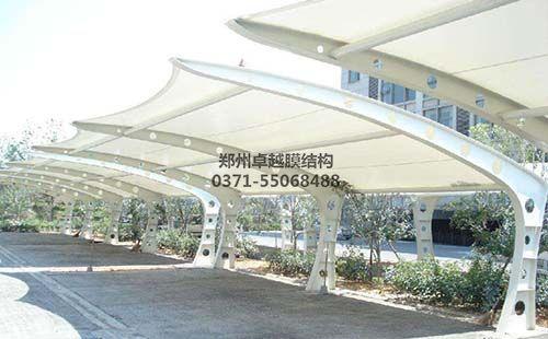 开封兰考县第二人民医院膜结构车棚
