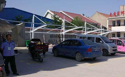 开封兰考县小宋卫生院膜结构车棚