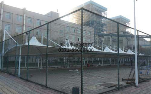 新乡市宝山电厂膜结构车棚
