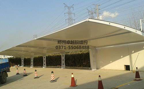 濮阳华龙区膜结构车棚