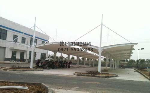 濮阳滑县棉纺厂膜结构车棚