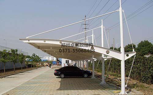 三门峡紫金国际膜结构车棚