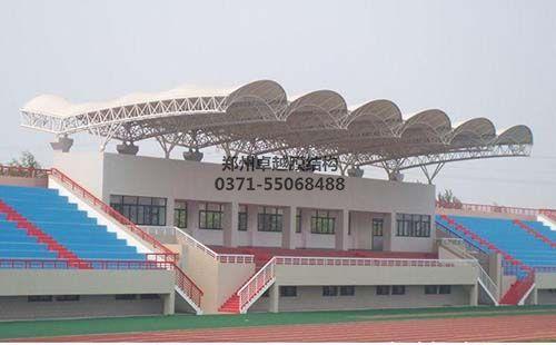 山东建筑大学体育场膜结构看台