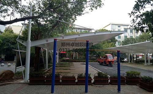 南阳卧龙区地税局住宅膜结构车棚