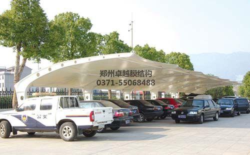 阳泉燕竹花园膜结构车棚
