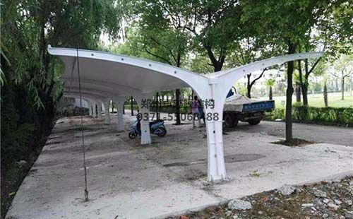 忻州怡居苑膜结构车棚