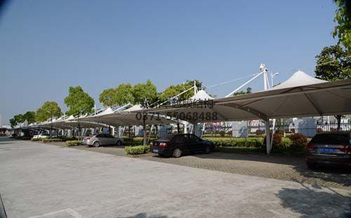 忻州机械公司膜结构车棚