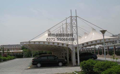 忻州金大丝网厂膜结构车棚