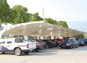 阳泉膜结构车棚【厂家直销】阳泉膜结构停车棚,张拉膜车棚