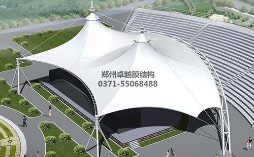 舞台膜结构设计效果图