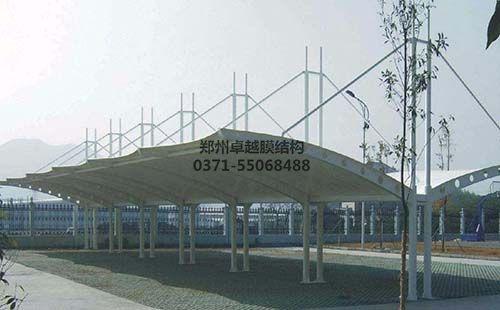 太原动物园游览车站膜结构车棚