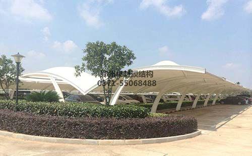 太原国樾龙城膜结构车棚
