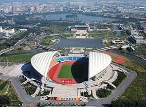 嘉兴市体育中心体育场膜结构