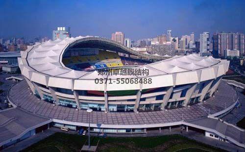大型膜结构建筑之上海八万人体育场