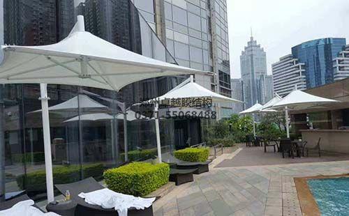 膜结构建筑之遮阳伞