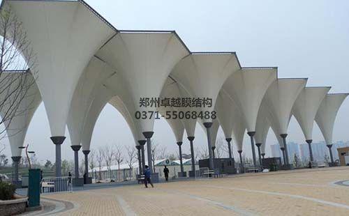 膜结构建筑之景观大门