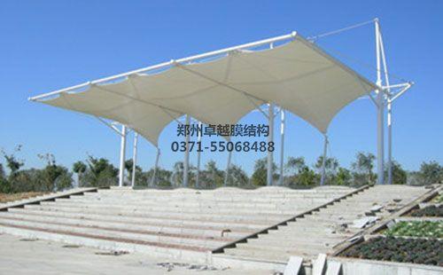 宝鸡铁路技师学院膜结构看台